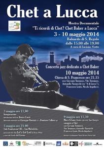 Chet a Lucca - locandina
