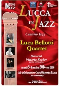 concerto jazz 5 dicembre Luca Bellotti Quartet